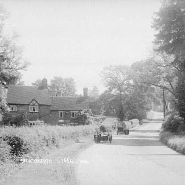 Shuckburgh, Lower.  Tea rooms and motor cycles