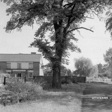 Withybrook.  Half Moon Inn