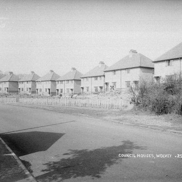 Wolvey.  Council housing