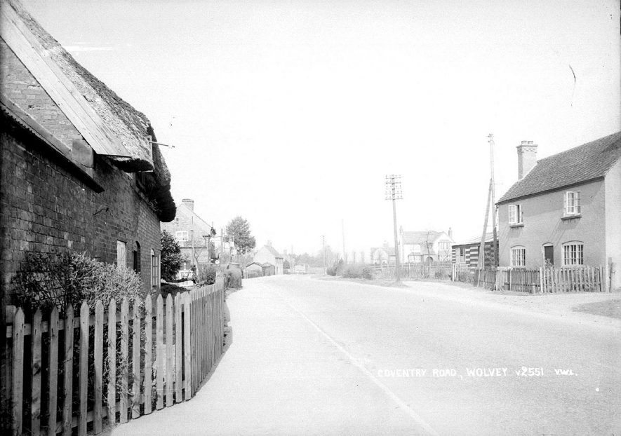 Coventry Road, Wolvey.  1950s |  IMAGE LOCATION: (Warwickshire County Record Office)
