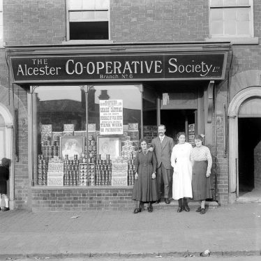 Alcester.  Co-op Grocery Stores