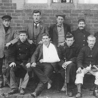 Brailes, Lower.  Wounded Belgian soldiers