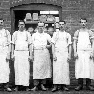 Alcester.  A group of bakers