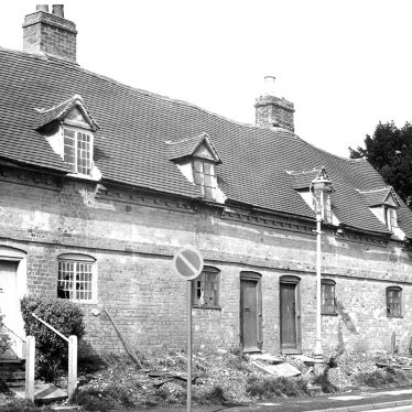 Alcester.  Almshouses