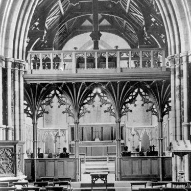 Nuneaton.  St Mary's Abbey church interior