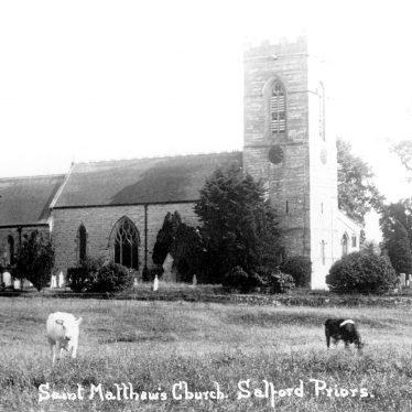 Salford Priors.  St Matthew's Church