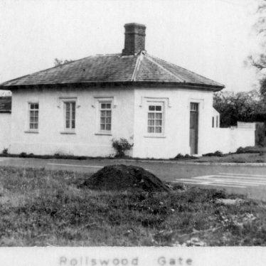 Alcester.  Rollswood Gate Turnpike House