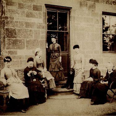 Cherington.  Group of ladies
