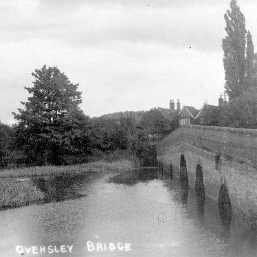 Alcester.  Oversley Bridge
