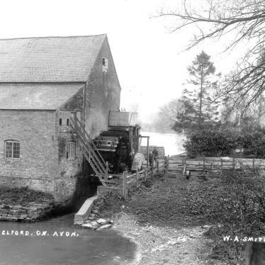 Welford on Avon.  Mill