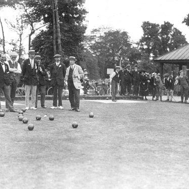 Rugby.  Caldecott Park, bowls
