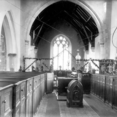 Wolvey.  St John the Baptist Church interior
