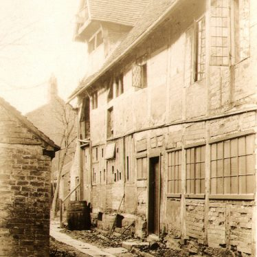 Alcester.  Back of High Street