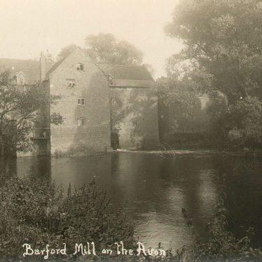 Barford.  Mill on the Avon