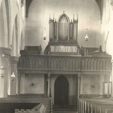 Hillmorton.  Church interior