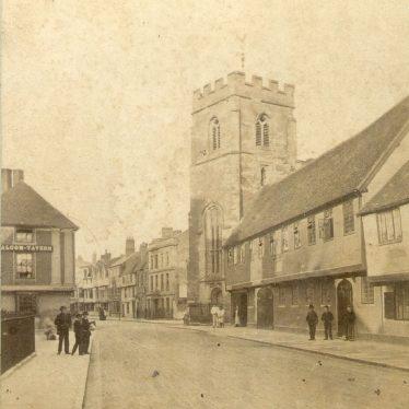 H And M Stratford Upon Avon Newbold on Avon. Village view - Our Warwickshire