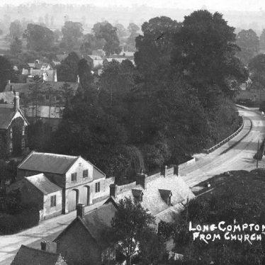 Long Compton.  Village view