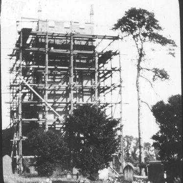 Cubbington.  Church tower