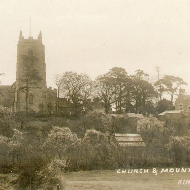 Kingsbury.  SS. Peter & Paul church and mount