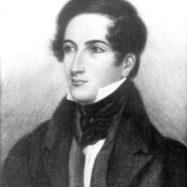 Kinwarton.  Portrait of Rev Richard Seymour