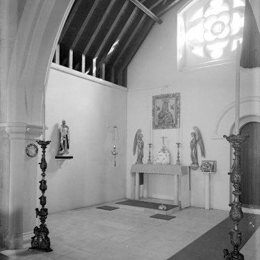Lillington.  Church interior