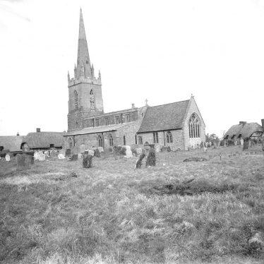 Quinton, Lower.  Parish church