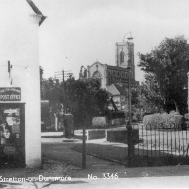 Stretton on Dunsmore.  Post Office and village