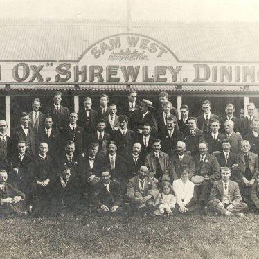 Shrewley.  Durham Ox dining pavilion