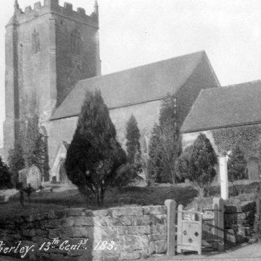 Weston under Wetherley.  St. Michael's church