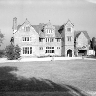 Wolston.  Priory, front exterior