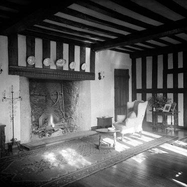 Wolston.  Priory, sitting room interior