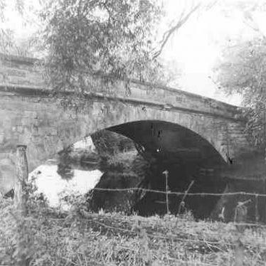 Grendon Bridge, near Croft House