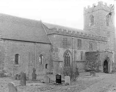 Church of St Lawrence, Oxhill