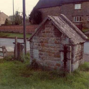 Imperial period drinking fountain, Upper Brailes