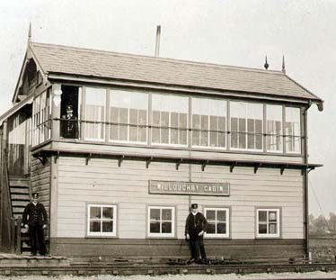 Site of Willoughby Signal Box