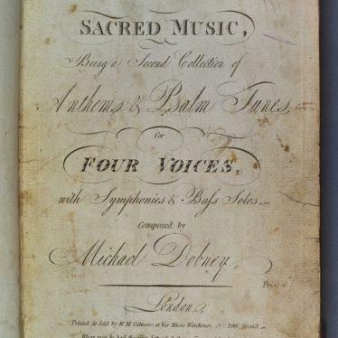 Rare Quire Books Found in St. Nicholas Church Papers