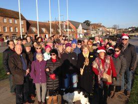 Christmas Day in Stratford upon Avon   Stratford Town Walk