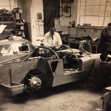 Working at Le Mans With Healey