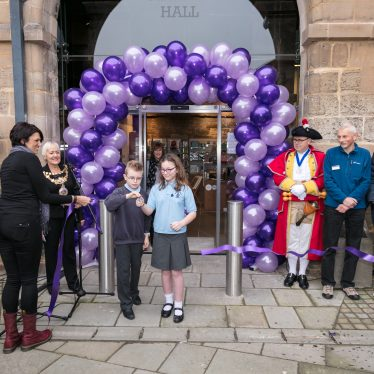The museum opens! | Image courtesy of Heritage & Culture Warwickshire