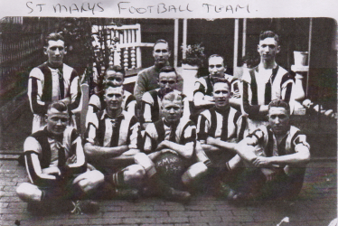Atherstone Football team 1937/38