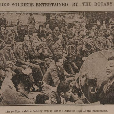 Bringing Jazz to Warwickshire's Wounded: Adelaide Hall's Wartime Performances