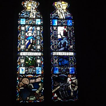 Adie Wade Memorial Window, Lapworth. | Image courtesy of Caroline Irwin