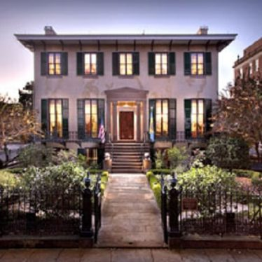 Andrew Low House, Savannah.   Image supplied by Karen M. Schillings