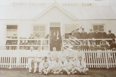 Exhall, nr Coventry. Colliery Cricket Club