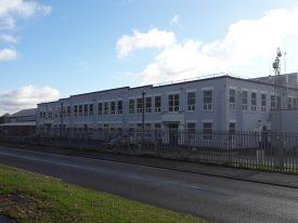 Herald / Vitesse body plant, Torrington Avenue. Now Peugeot spares depot. | Image courtesy of Benjamin Earl