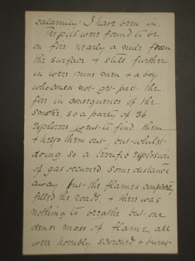 Frederick Marsh letter   Warwickshire County Record Office reference CR263
