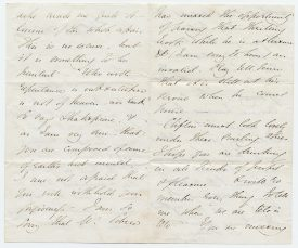 George Eliot letter | Warwickshire County Record Office reference CR3989/1/2/4