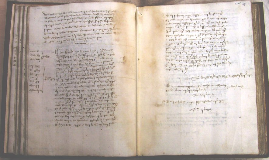 The Household Book of Richard Beauchamp, 1431-1432. | Warwickshire County Record Office reference CR1618/W19/5