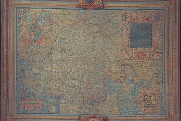 The Sheldon Tapestry Map of Warwickshire