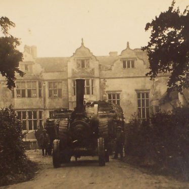 The Priory at the time of demolition, c. 1926. | Warwickshire County Record Office reference CR 1308/4